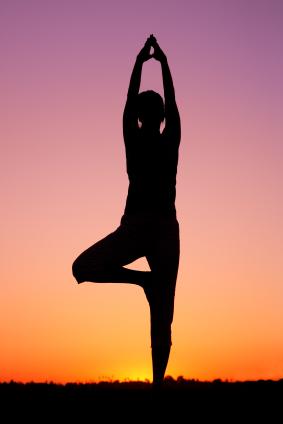"Yoga Meditation Pose ""The world'..."